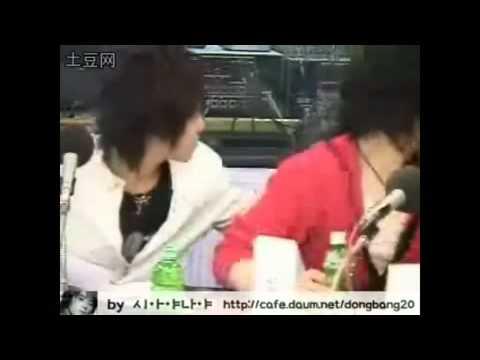 Yunjae Kiss Throught A Green Bottle