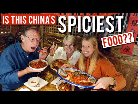 We tried the infamously spicy HUNAN FOOD 湘菜 ..... RIP digestive system