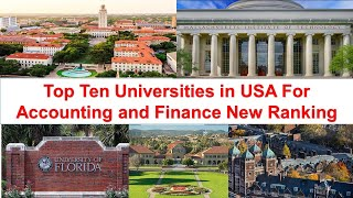 New Ranking for Accounting and Finance Universities: Top Ten Schools in USA thumbnail