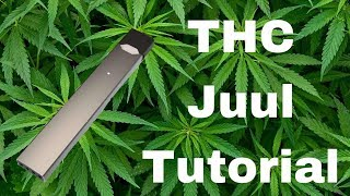 THC JUUL pods // How to make // EASY