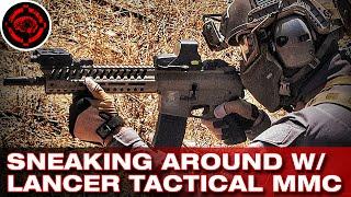 Lancer Tactical MMC at Jericho Airsoft Pt 2 (Lots of Kills)