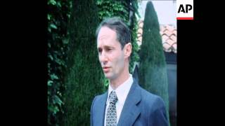 SYND 31 5 76 PRINCE CARLOS HUGO SPEAKS IN FRENCH