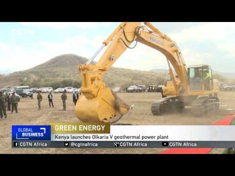 Green Energy: Kenya launches Olkaria V geothermal power plant