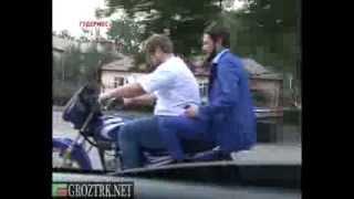 Чечня. Инспекционная поездка Р.Кадырова и Х.Ахмадова в г.Гудермес