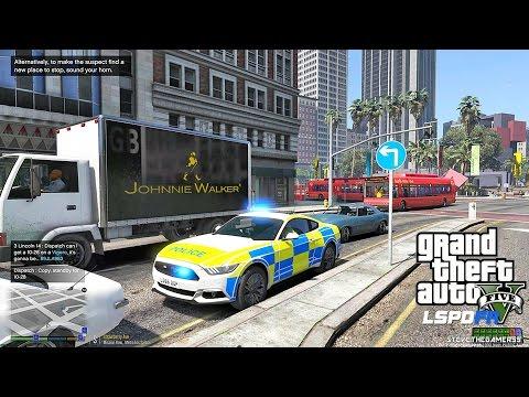 GTA 5 LSPDFR 0.3.1 - EPiSODE 224  - LET'S BE COPS - BRITISH PATROL (GTA 5 PC POLICE MODS)