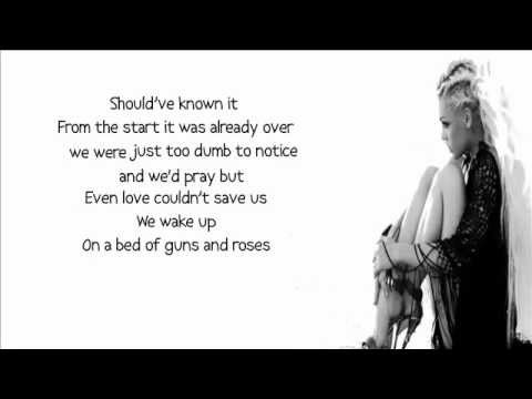 T.I. feat. Pink - Guns and Roses lyrics