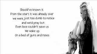 T.I. feat. Pink - Guns and Roses lyrics