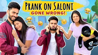 PRANK ON SALONI | PRANK GONE WRONG FEAT. @Saloni Mittal  | AYUSH YADAV