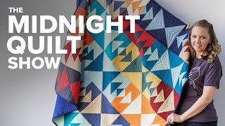No-Leftover-Fabric Quilt Pattern | S6E5 Midnight Quilt Show with Angela Walters