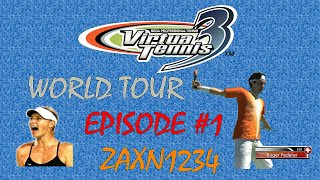 Virtua Tennis 3: World Tour Mode #1