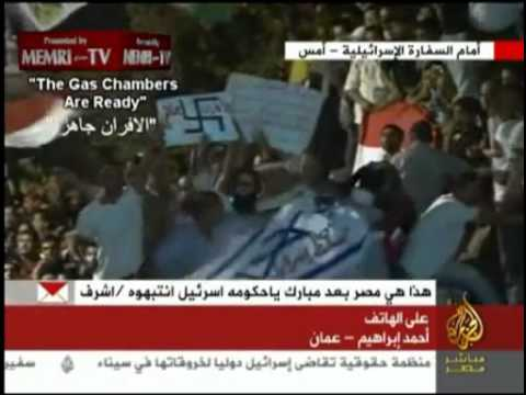 "Egyptian muslim nazis: ""The gas chambers are ready"""