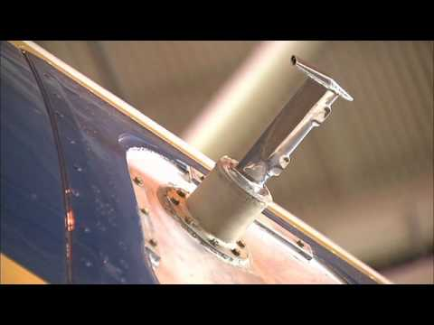 Scientists installing Instruments and Probes on NASA