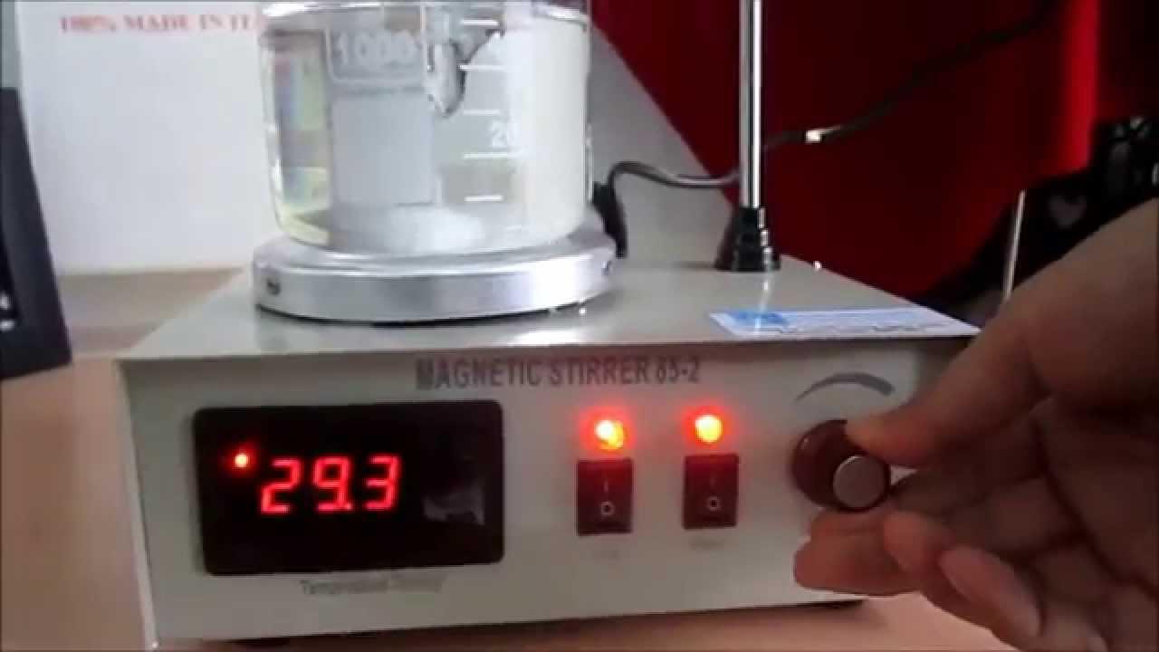 |nhieutamonline.com| – Hướng dẫn sử dụng máy khuấy từ gia nhiệt 85-2