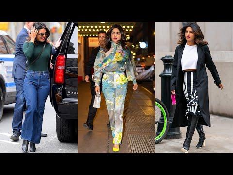 Priyanka Chopra flaunts her fashion prowess while rocking 3 chic looks in New York