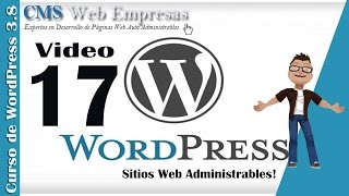 17. Cambiar contraseña de Acceso a WordPress - Administrador