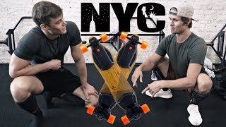 Lifting With Jon Olsson | Boosted Boarding In NYC | Visiting Facebook HQ