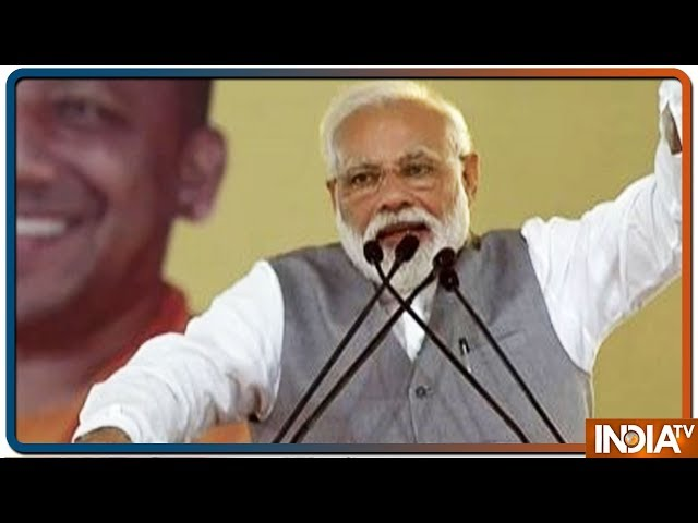 PM Modi slams opposition for demanding proof of air strike, says 130 crore indians are my proof