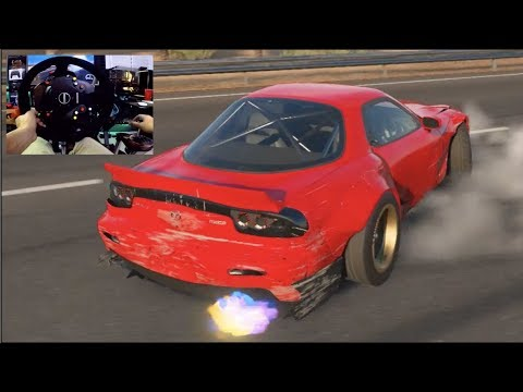 Forza Motorsport 7 GoPro Can I Still Drift On 900° Mazda RX7   SLAPTrain thumbnail