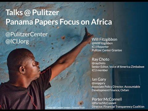 Talks@Pulitzer: Panama Papers Focus on Africa