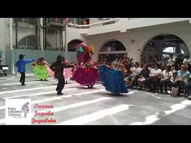 Ballet Folklórico Tlatoani en escena