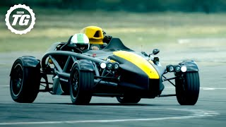 EXTENDED: Chris Harris vs the Ariel Atom 4 | Top Gear: Series 28