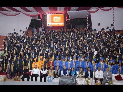 Convocation 2017 @ ITM University