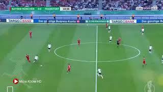 أهداف بارين ميونخ واينترخت فرانكفورت 3-1 مجنونه كامله. نهائي كأس الالماني 2018 HD