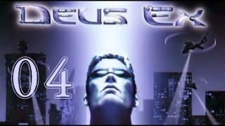 Let's Play Deus Ex #004 - UNATCO HQ [720p60]