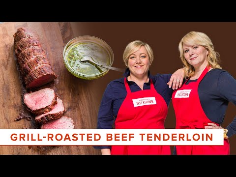 How To Make Grill Roasted Beef Tenderloin Youtube