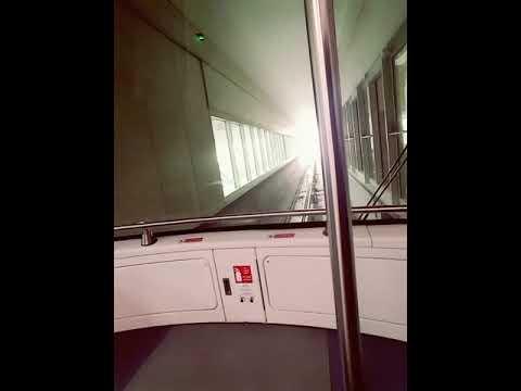 Dubai Airport metro