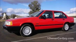 Volvo 940 Turbo Sedan SE Classic Car 960 760 740 Test Drive Review