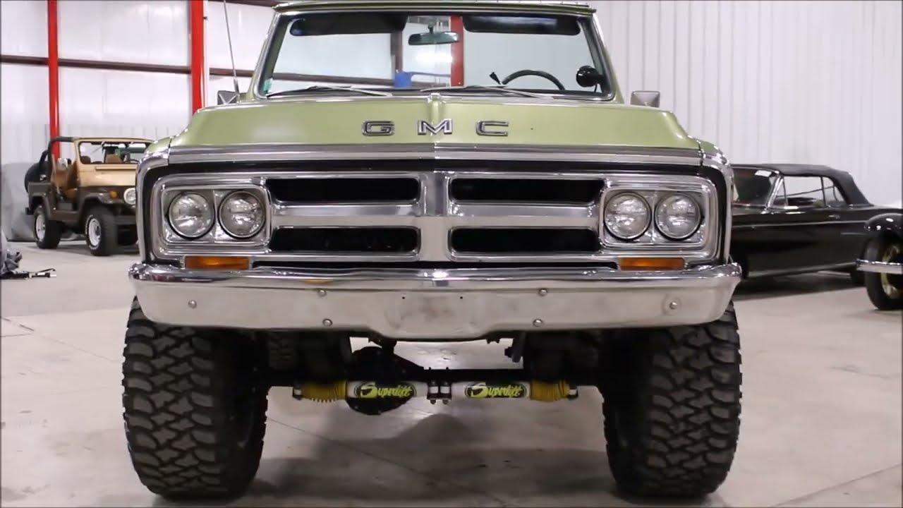1972 GMC Jimmy green2 - YouTube