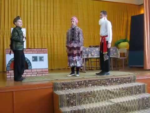 Русская народная сказка  Каша из топора ( Постановка)