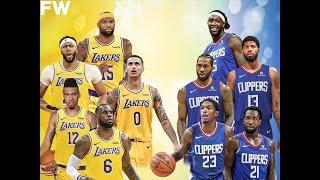 LA Lakers vs  LA Clippers NBA2K2020