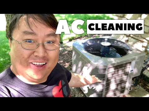 Make Your Air Conditioning Run Cooler by Cleaning Your AC Condenser Coils