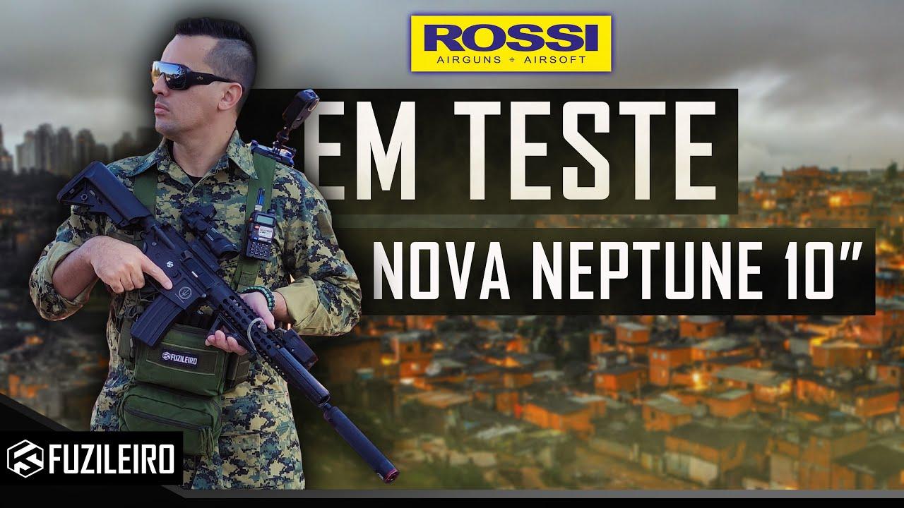 MUITO A FRENTE AO SEU TEMPO   ALTO PODER DE DESTRUIÇÃO ESSE É O NOVO NEPTUNE 10 ROSSI AEG