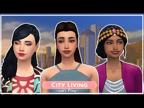 The Sims 4 | City Living | Ep 1 | Karaoke Night