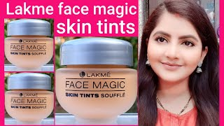 Lakme face magic skin tints soufflé for Wheatish to fair skin | RARA | tinted MOISTURISER |