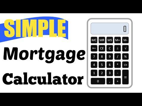 Bam! Simple Mortgage Calculator