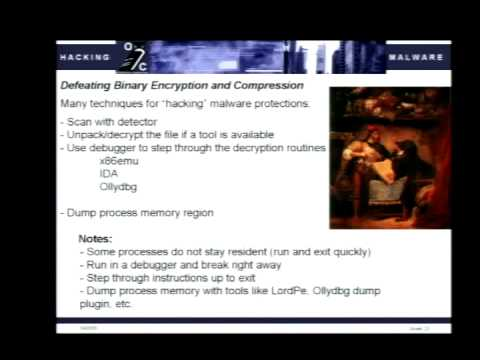 DEF CON 14 - Valsmith and Quist: Hacking Malware: Offense Is the New Defense