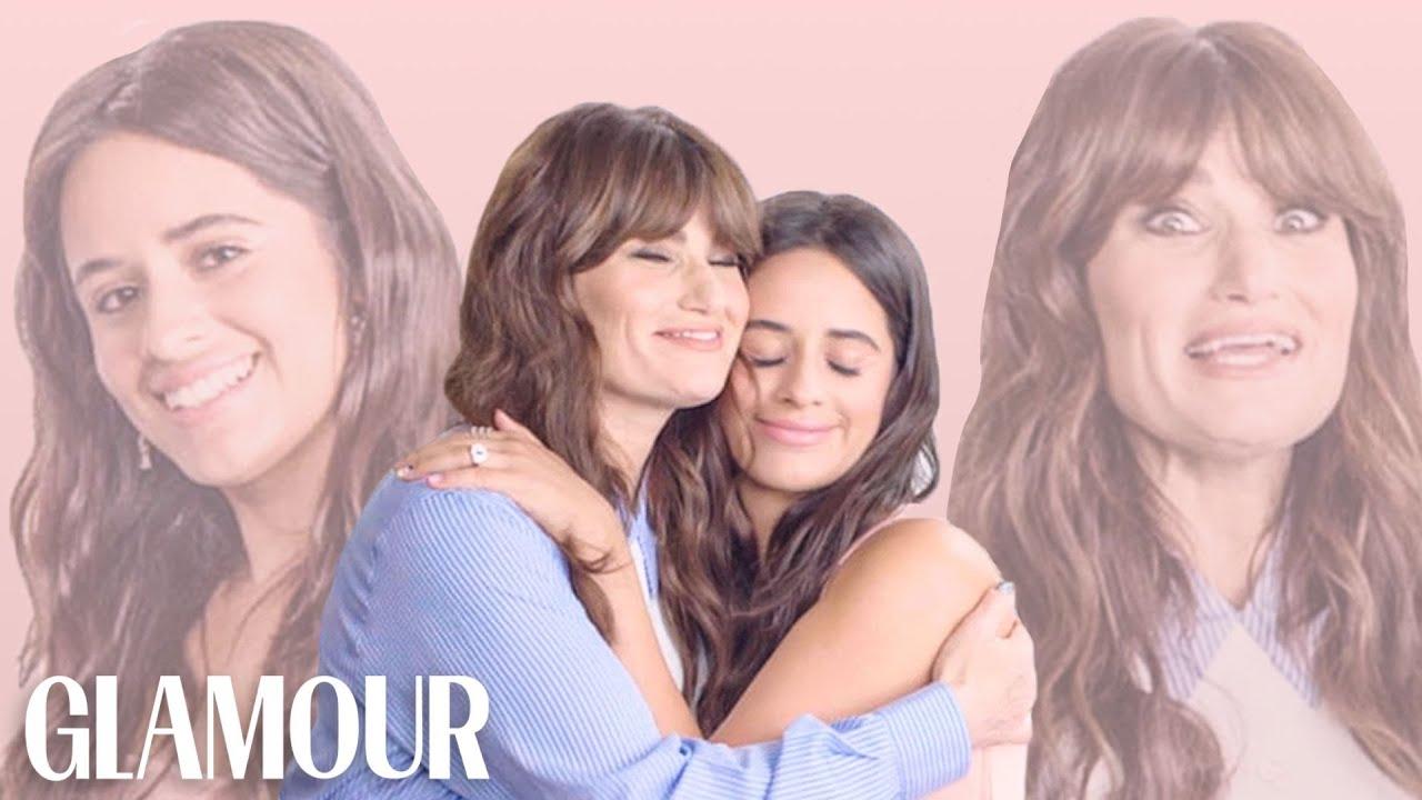 Camila Cabello and Idina Menzel Take a Friendship Test   Glamour