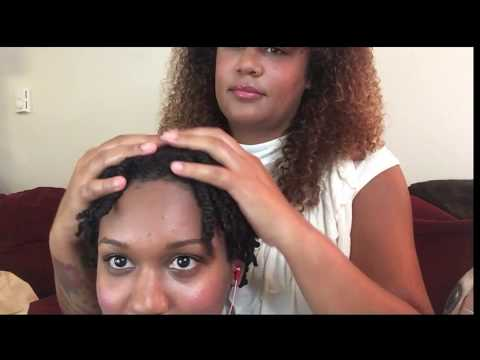 ASMR Coconut Oil Head Massage😴🌛💆🏾 w/ Fuk Walmart Combined