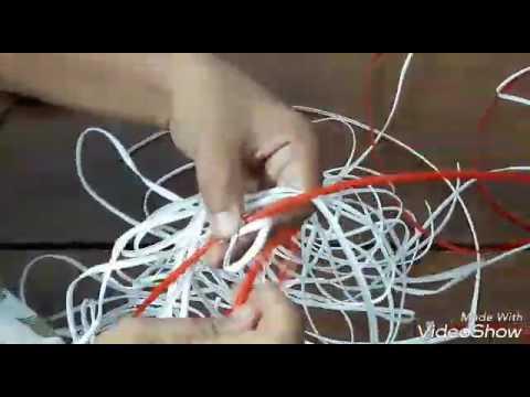 Basket weaving  koodai pinnuthal part 1