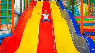 Indoor Playground: Family Fun Play Area for Kids  Song for Children