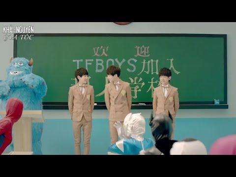 [Vietsub MV] TFBoys - Cẩm nang tôi luyện thanh xuân (青春修炼手册)