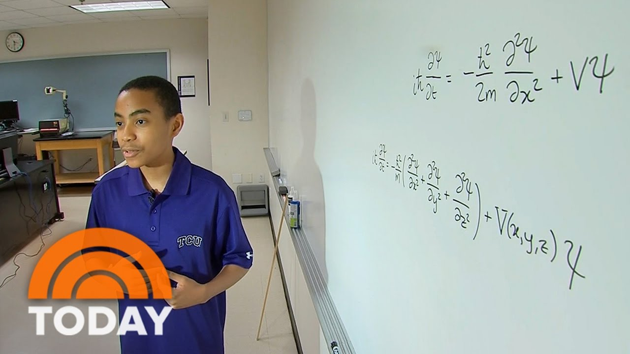 Meet The 14-Year-Old Quantum Physics Whiz Who's Already Graduating College   TODAY
