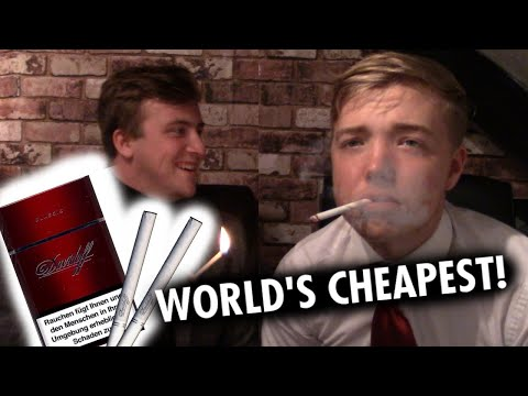 THE WORLD'S CHEAPEST CIGARETTES!! (DAVIDOFF CIGARETTES)