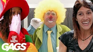 Best of Clown Pranks | Just For Laughs Compilation