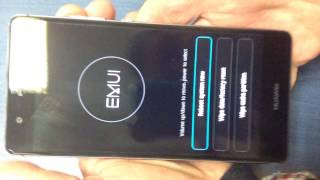 Hard Reset HUAWEI P9 - password reset