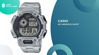 Unique Casio AE-1400WHD-1AVEF Men Watches Features, Detailed Specs, Prices